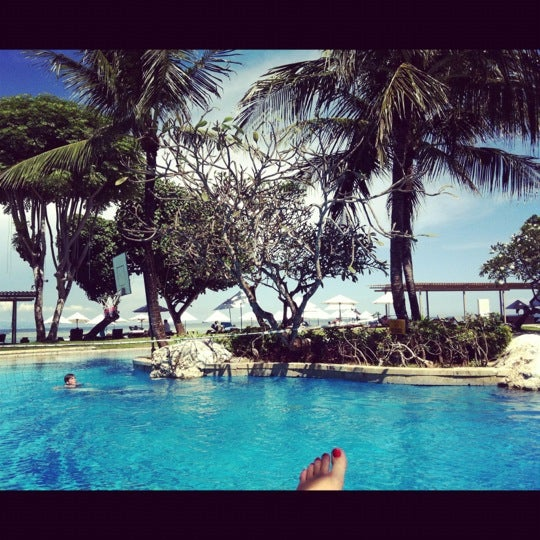 Photo taken at Grand Aston Bali Beach Resort by Bonita💏 on 2/23/2012