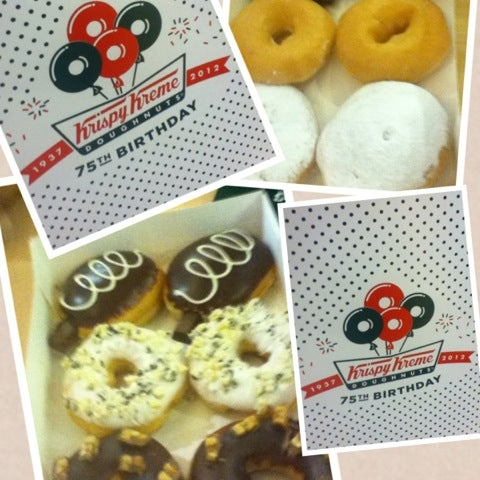 Photo taken at Krispy Kreme by Shajed J. on 6/18/2012