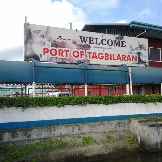 Photo taken at Tagbilaran City Bohol Port by Mark Lloyd J. on 7/5/2012