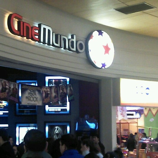 Photo taken at CineMundo by Raul C. on 7/7/2012