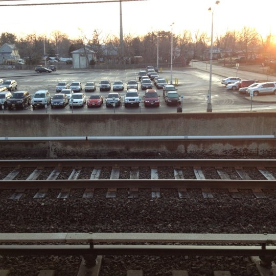 Photo taken at PATCO: Ashland Station by Jeff K. on 2/9/2012