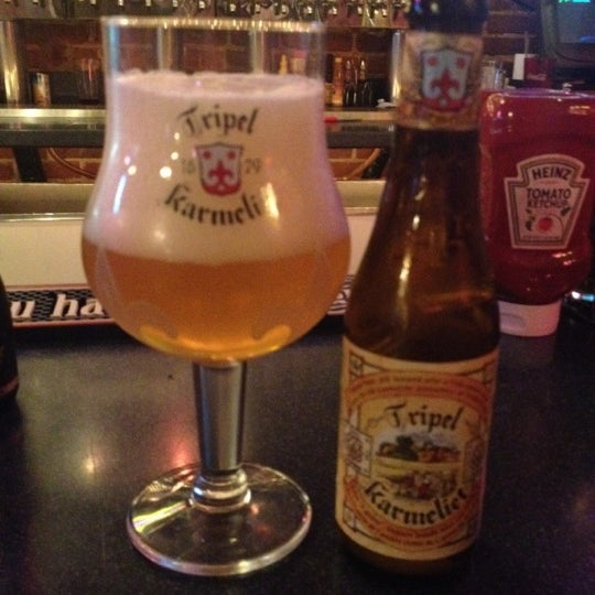 Photo taken at Manuel's Tavern by Abe M. on 4/22/2012