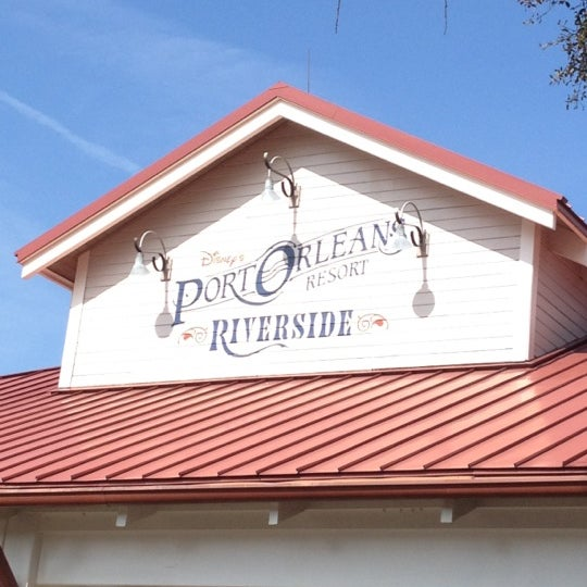 Photo taken at Disney's Port Orleans Riverside Resort by Susan P. on 2/24/2012