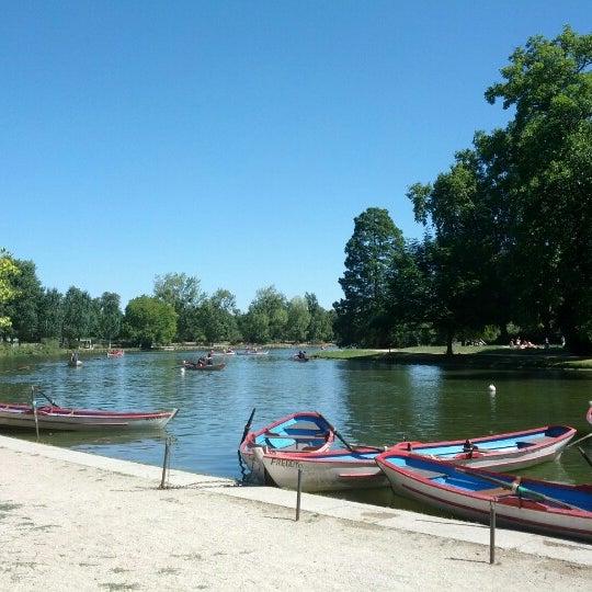 Photo taken at Lac Daumesnil by Malik R. on 8/11/2012
