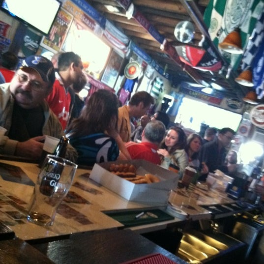 Photo taken at Amsterdam Tavern by Jen N. on 3/4/2012