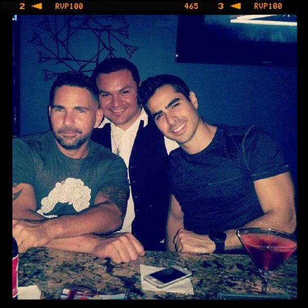 Photo taken at Eros Lounge by Vixen A. on 7/27/2012