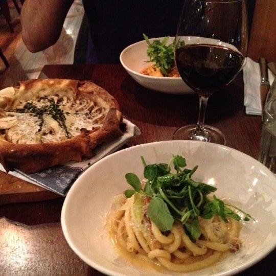 Photo taken at Jamie's Italian by Shruti R. on 7/14/2012