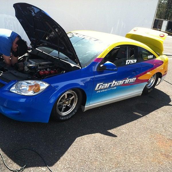 Photo taken at Atco Raceway by Mc Slick on 4/13/2012