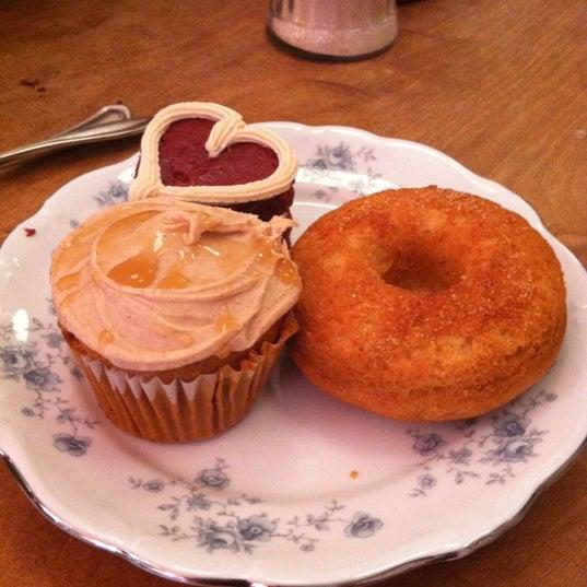 Photo taken at Erin McKenna's Bakery by Sarah R. on 8/25/2012