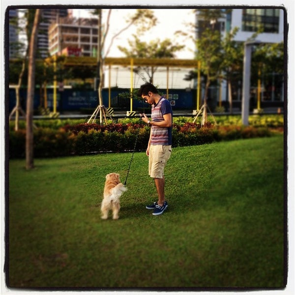 Photo taken at Bonifacio High Playground by Jr T. on 6/24/2012