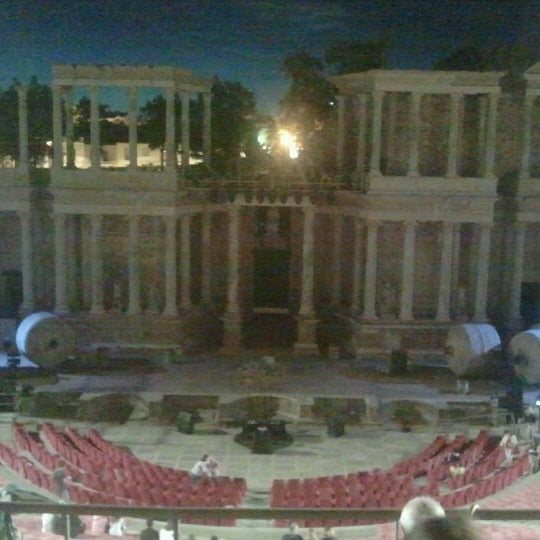 Photo taken at Anfiteatro Romano by David L. on 8/16/2012