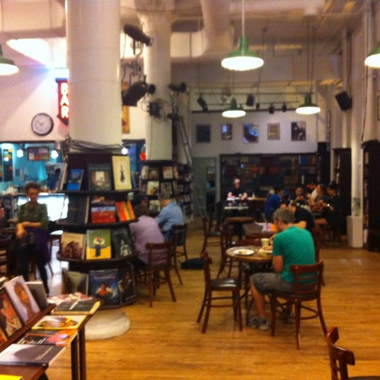 Photo taken at Housing Works Bookstore Cafe by Paul W. on 5/20/2012