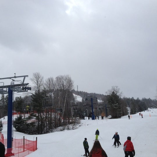 Photo taken at Pat's Peak Ski Area by Sai T. on 2/25/2012