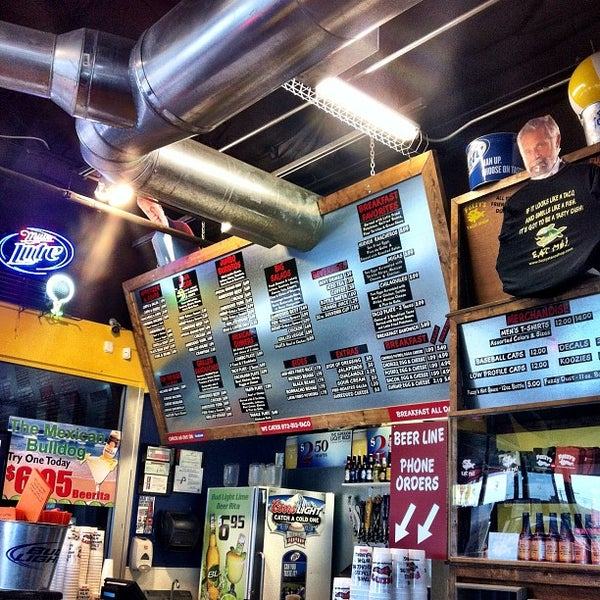 Photo taken at Fuzzy's Taco Shop by Chris H. on 2/12/2012