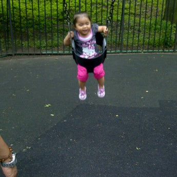 Photo taken at Central Park - Mariners' Gate Playground by Ethel U. on 6/24/2012