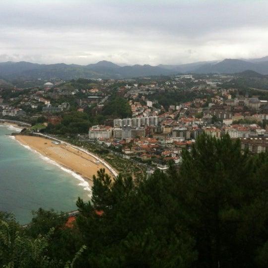 Photo taken at Paseo de La Concha by Ashley I. on 8/25/2012