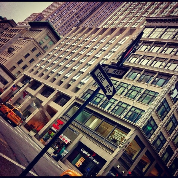 Photo taken at The Setai Fifth Avenue by Alex B. on 2/17/2012