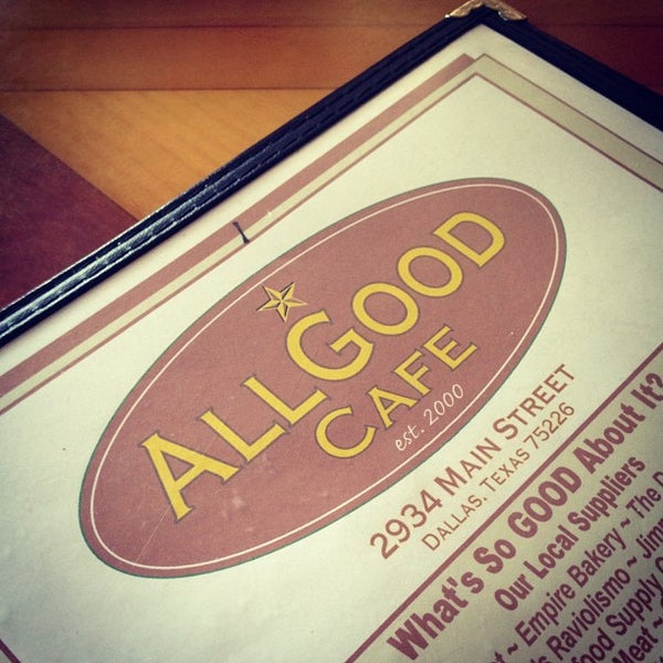Photo taken at All Good Cafe by Jason S. on 8/11/2012