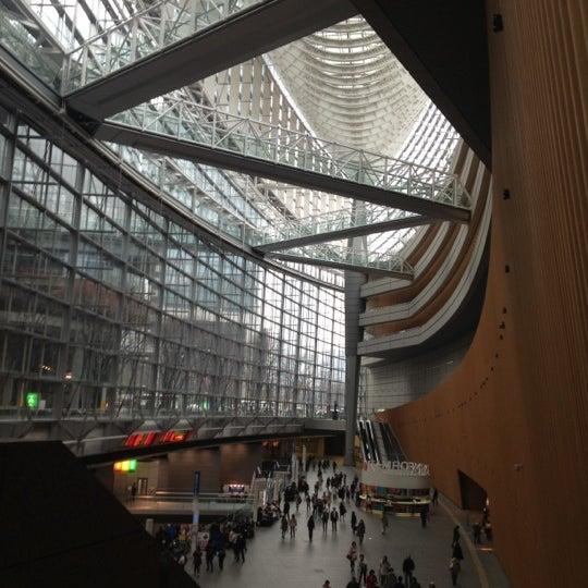Photo taken at 東京国際フォーラム ガラス棟 by Mari I. on 3/17/2012