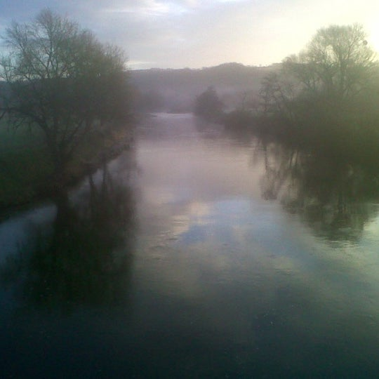 Photo taken at Ross-on-Wye by Dominic R. on 3/27/2012