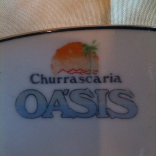 Photo taken at Oasis Churrascaria by Sergio F. on 6/14/2012