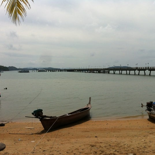 Photo taken at Ao Por Pier by Dhont C. on 3/3/2012