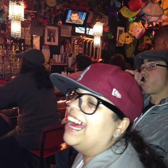 Photo taken at The Cubbyhole Bar by Simply R. on 3/25/2012