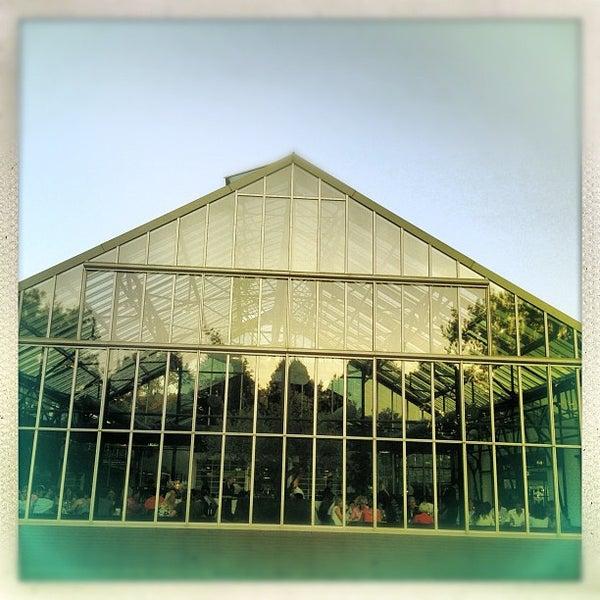 Photo taken at De Kas by Ria B. on 8/11/2012