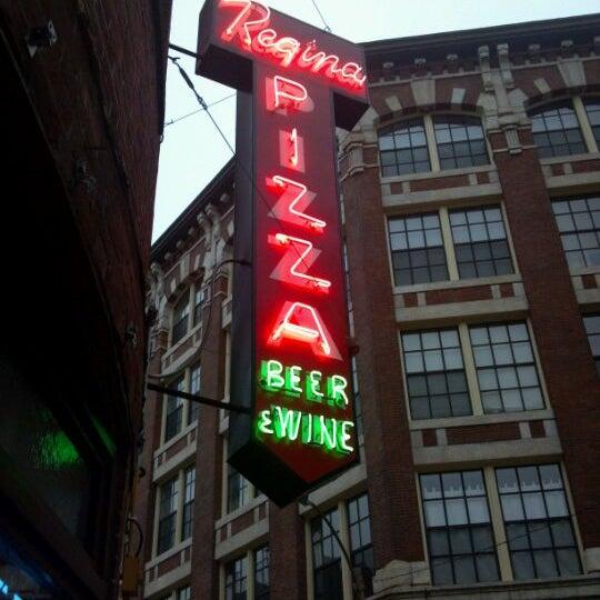 Photo taken at Regina Pizzeria by Bob E. on 5/4/2012