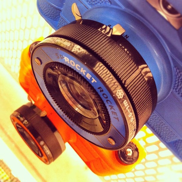 Photo taken at Lomography Gallery Store by Leonardo Augusto M. on 5/19/2012