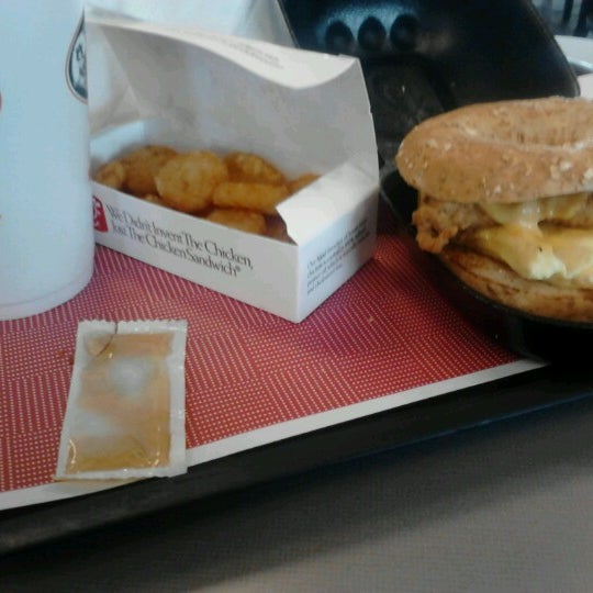 Photo taken at Chick-fil-A by Gregory M. on 8/6/2012