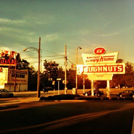 Photo taken at Krispy Kreme Doughnuts by Jenn on 5/19/2012