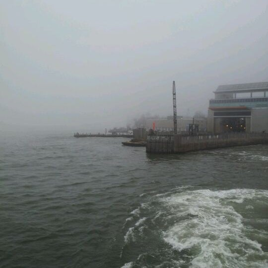 Photo taken at New York Harbor by Frankie A. on 3/22/2012