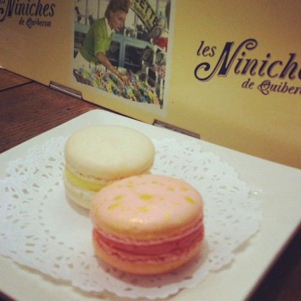 Photo taken at La Maison du Macaron by Kat E. on 5/2/2012