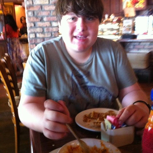 Photo taken at La Madeleine Country French Café by Samantha B. on 3/31/2012