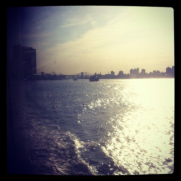 Photo taken at Staten Island Ferry Boat - Guy V. Molinari by Sonali S. on 5/17/2012
