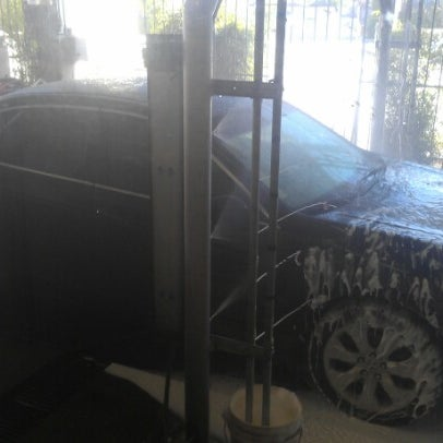 Photo taken at Handy J Car Wash by Anthony C. on 7/21/2012