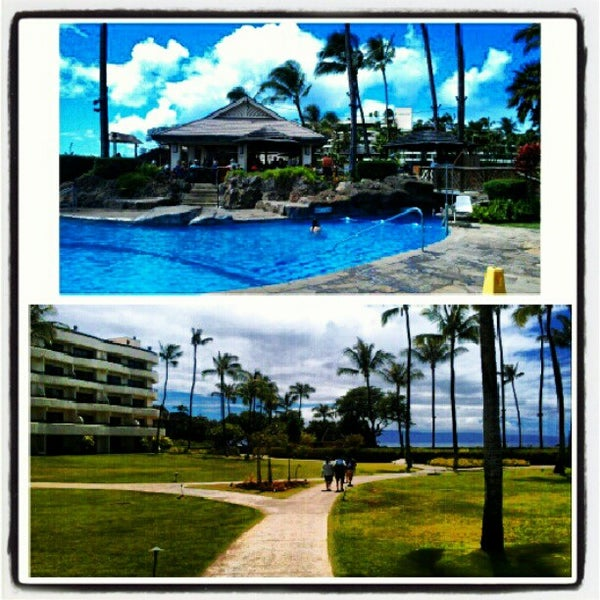 Photo taken at Sheraton Maui Resort & Spa by Joseph A. on 8/18/2012