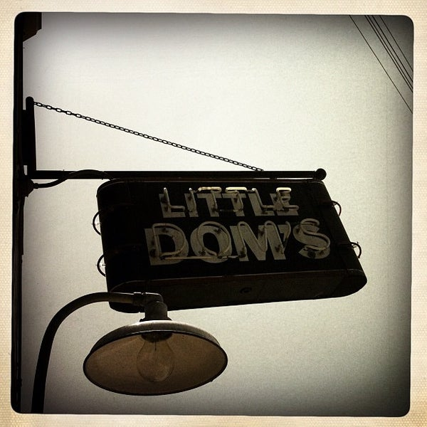Photo taken at Little Dom's by Xavier R. on 7/14/2012