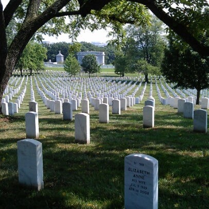 Photo taken at Arlington National Cemetery by Christophe S. on 8/15/2012