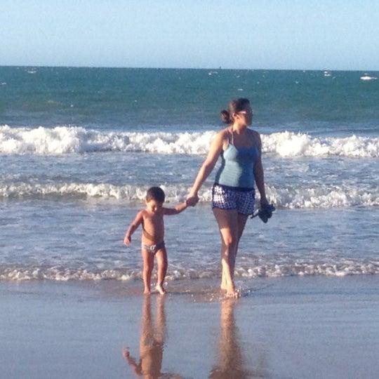 Photo taken at Lagoinha Kite Point by Leopoldo on 7/28/2012