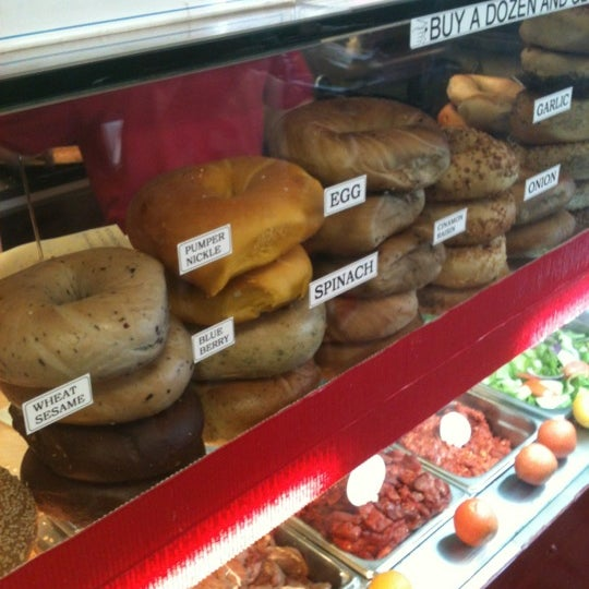 Photo taken at Famous Bagel Buffet by Alvin U. on 6/25/2012