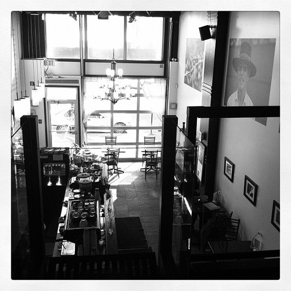 Photo taken at Transcend Coffee by Jodine C. on 2/16/2012