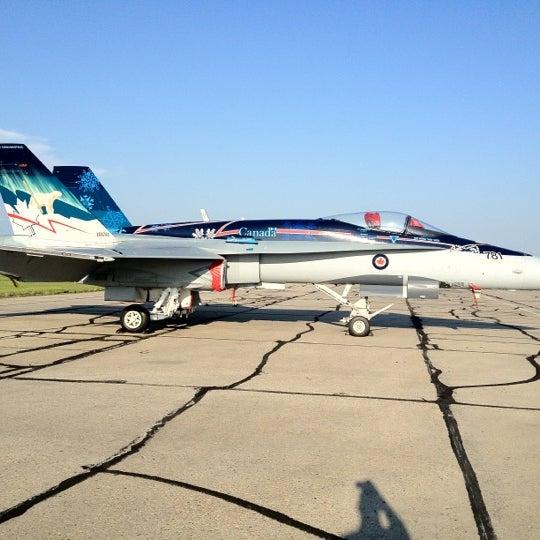 Photo taken at Saskatoon John G. Diefenbaker International Airport (YXE) by Maged B. on 7/30/2012