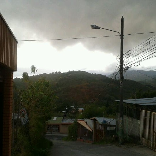 Photo taken at Aserrí by Erick S. on 3/6/2012