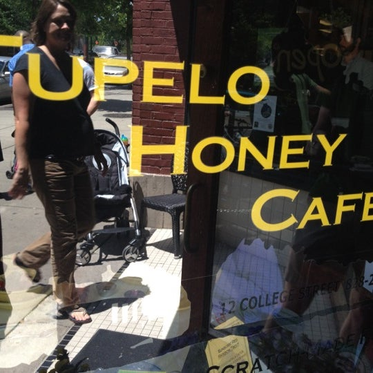 Photo taken at Tupelo Honey Cafe by Steve on 5/11/2012