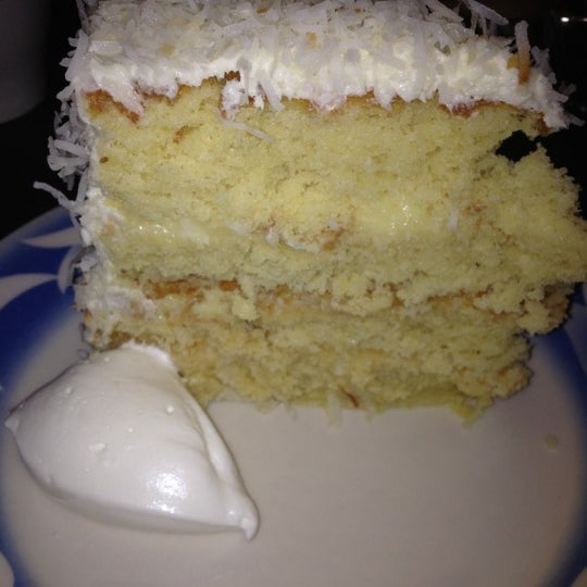 Most amazing delicious coconut cake I have EVER had.