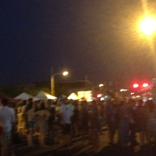 Photo taken at Night Market Washington Avenue by Jake K. on 6/29/2012