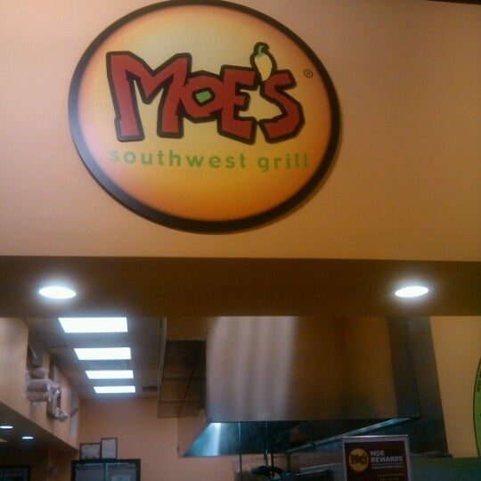 Photo taken at Moe's Southwest Grill by Mo B. on 6/22/2012