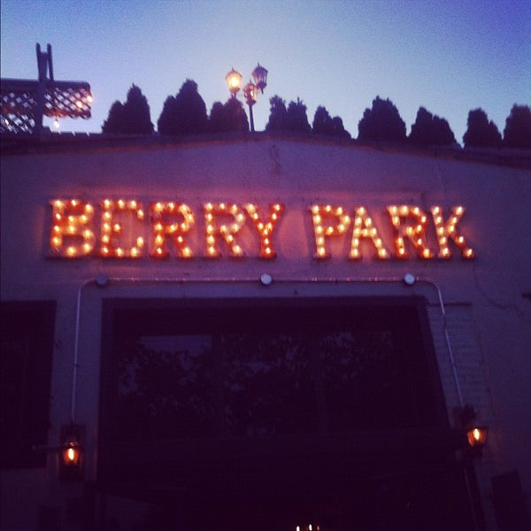 Photo taken at Berry Park by Brian P. on 5/12/2012
